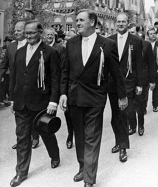 Stadträte um 1970
