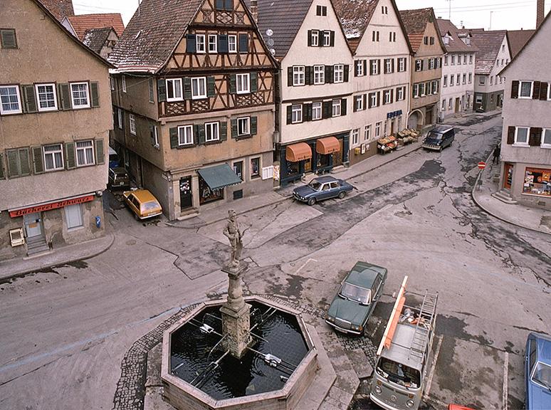 Marktplatz und Ostergasse