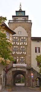 Banner am Oberen Tor