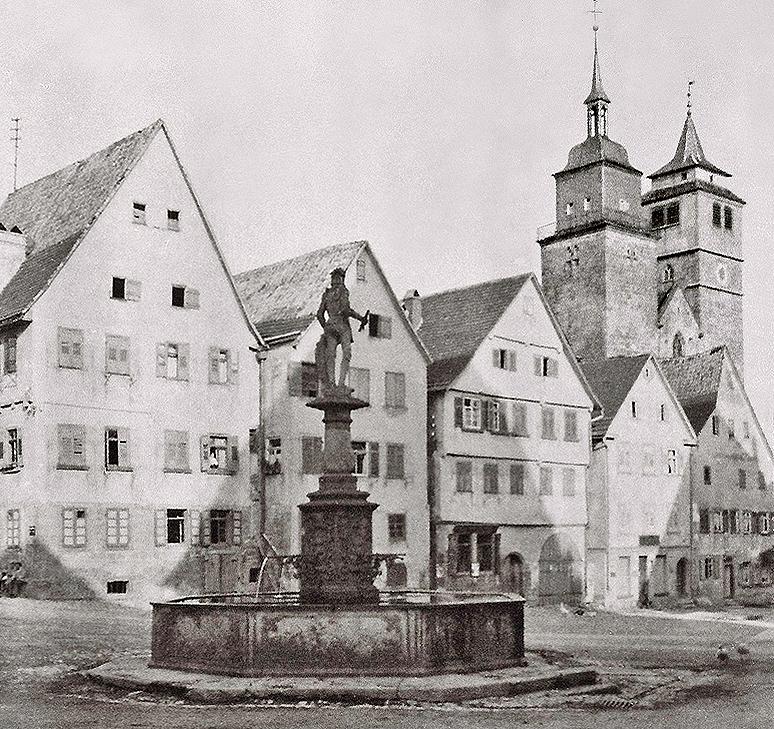 Marktplatz Ostflanke