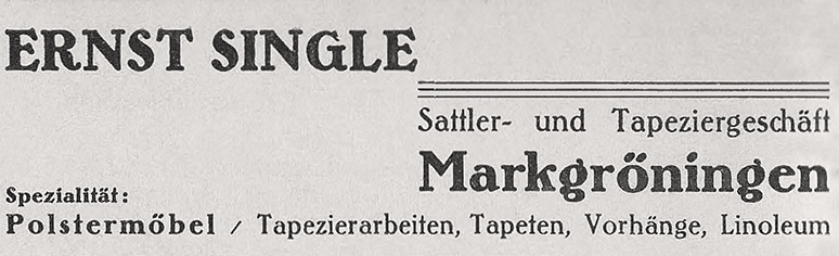 Singles markgroningen