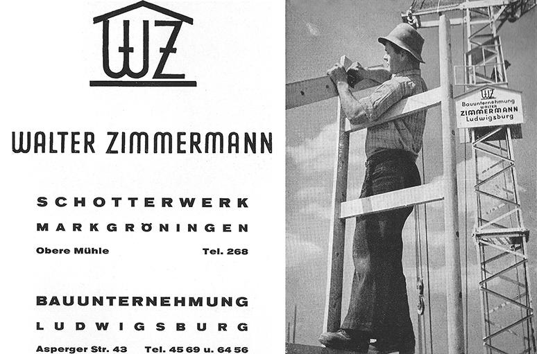 Anzeige Zimmermann