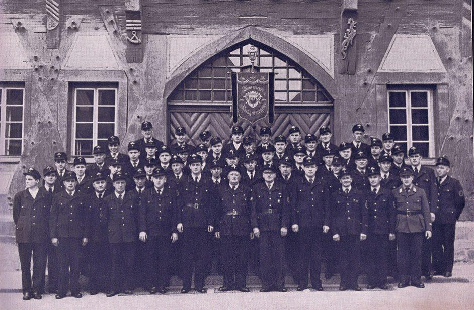 Feuerwehrkorps 1961