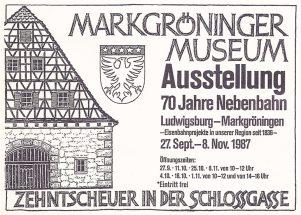 Bahnausstellung 1987