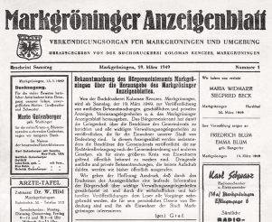 Anzeigenblatt