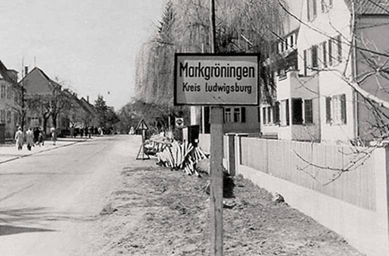 Bahnhofstraße 1950