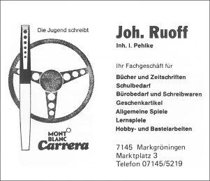 Anzeige Ruoff