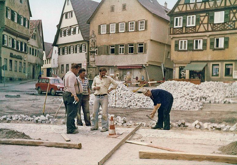 Marktplatz Pflaster
