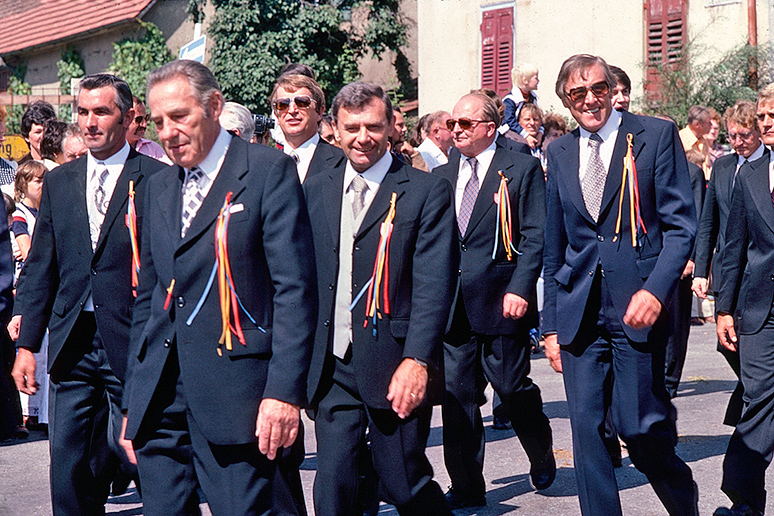 Gemeinderäte 1978