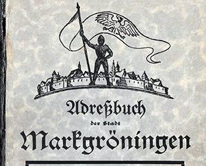 Adressbuch von 1933