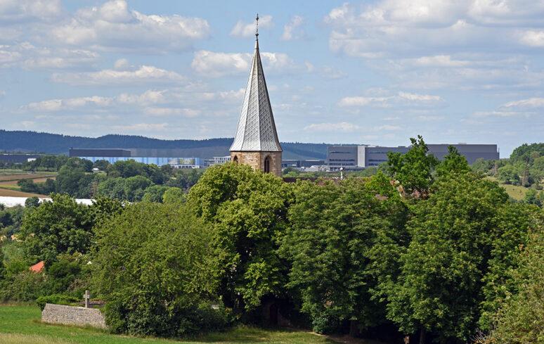 Frauenkirche vor IKG