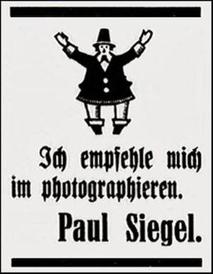 Anzeige Siegel
