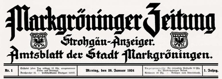 Markgröninger Zeitung