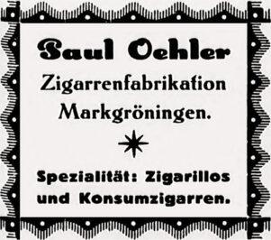 Anzeige Oehler