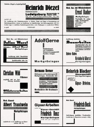 Anzeigen Post