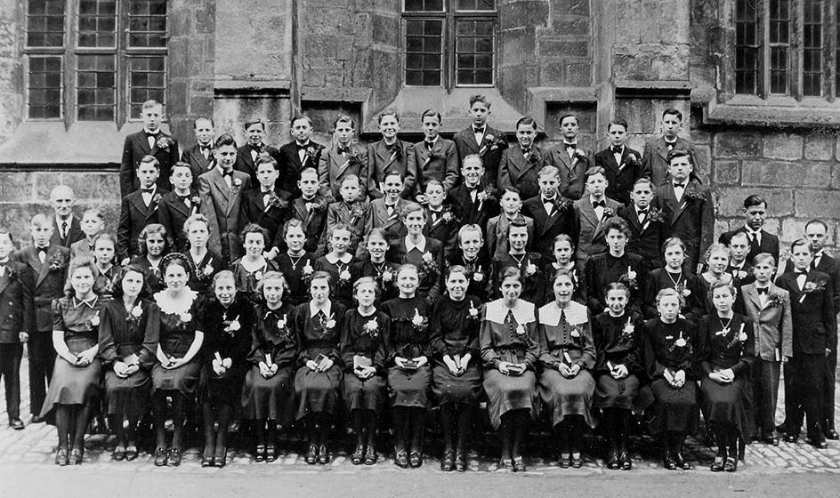Konfirmanden 1949