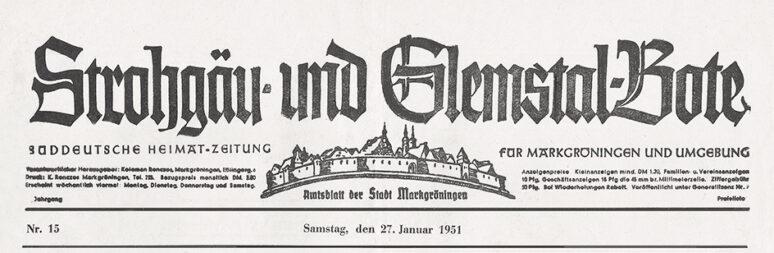 Strohgäu- und Glemstalbote
