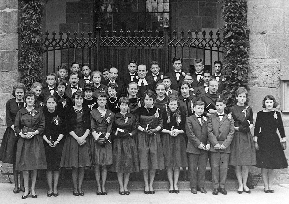 Konfirmanden 1960