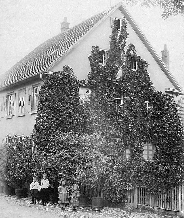Haus Meuret 1903
