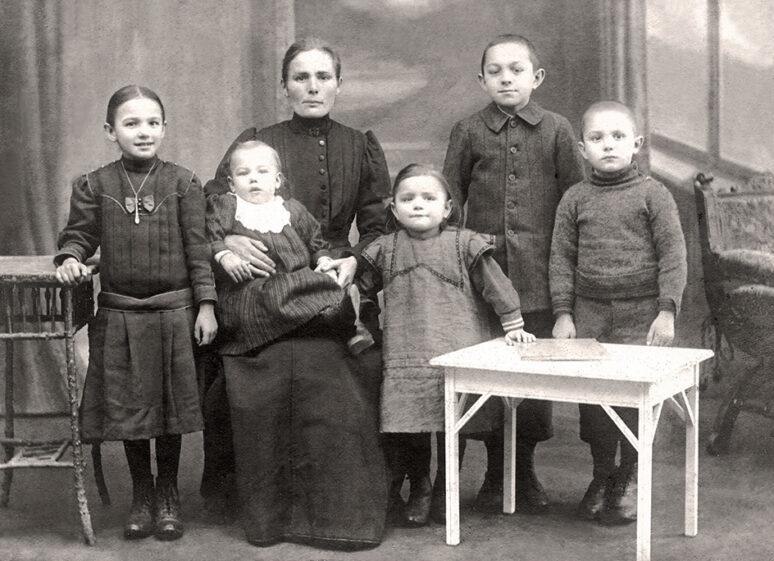 Familie Ruf 1915