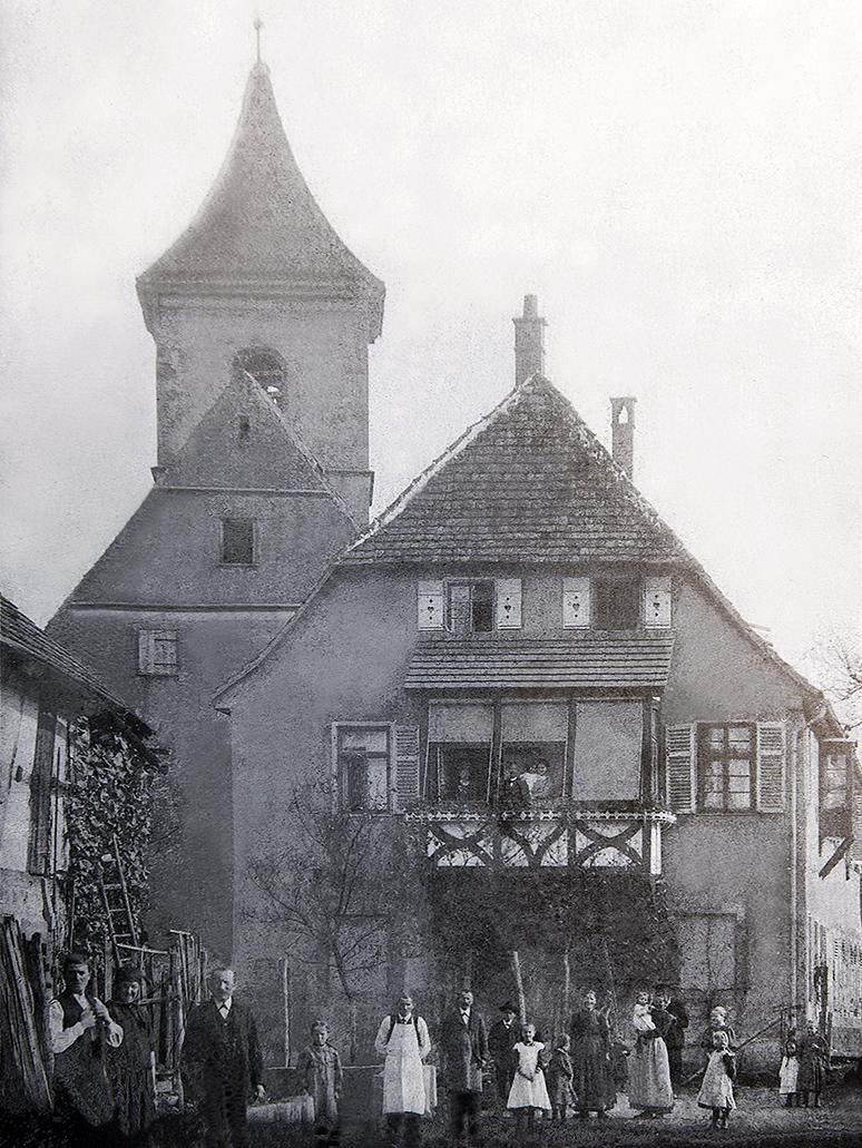 Kirche und Pfarrhaus UR