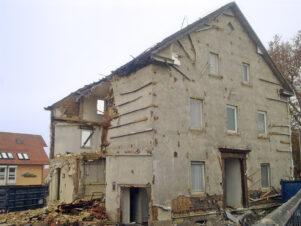 Abriss Haus Umbach