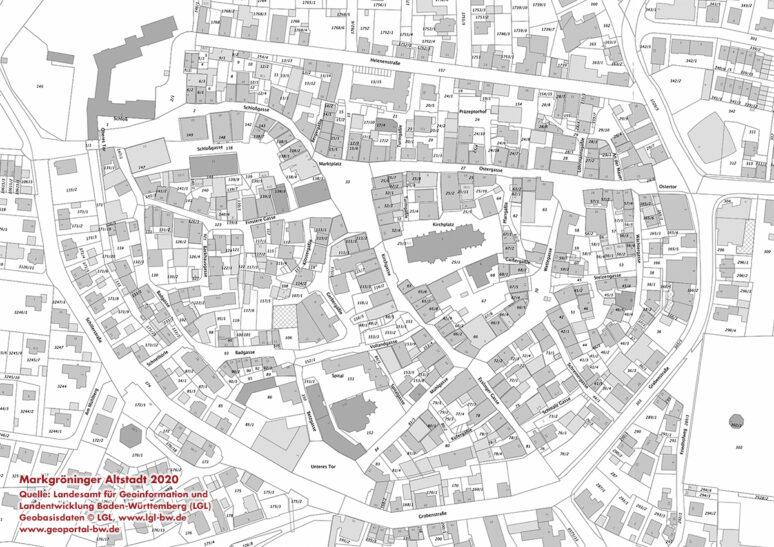 Stadtplan Altstadt