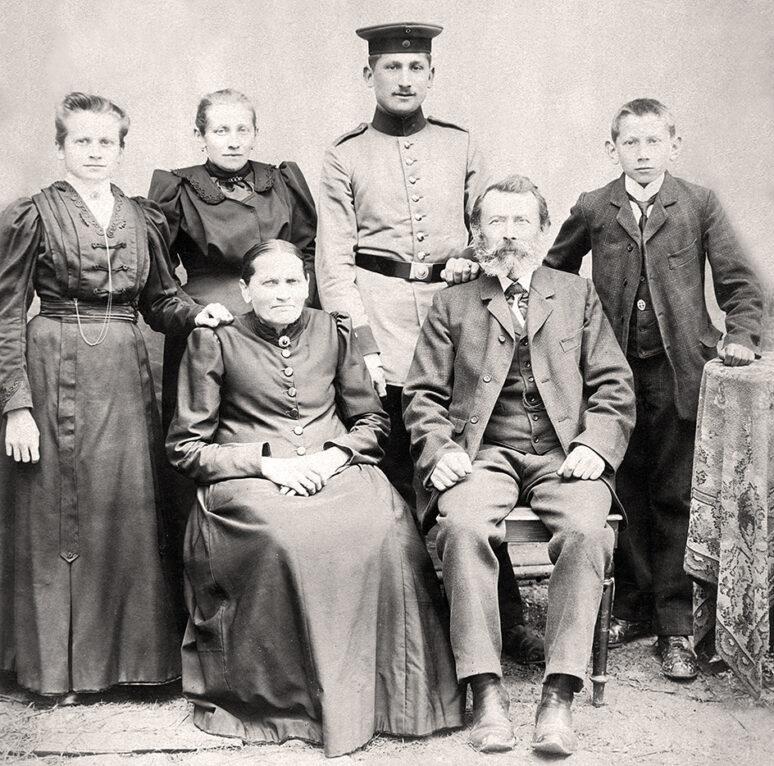 Familie Dürr um 1905