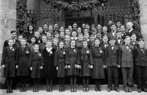 Konfirmanden 1945