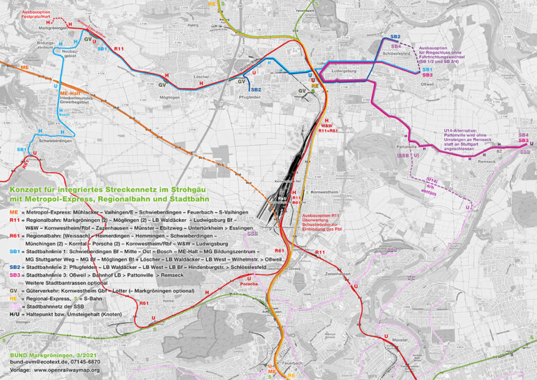 Integriertes Streckennetz Strohgäu