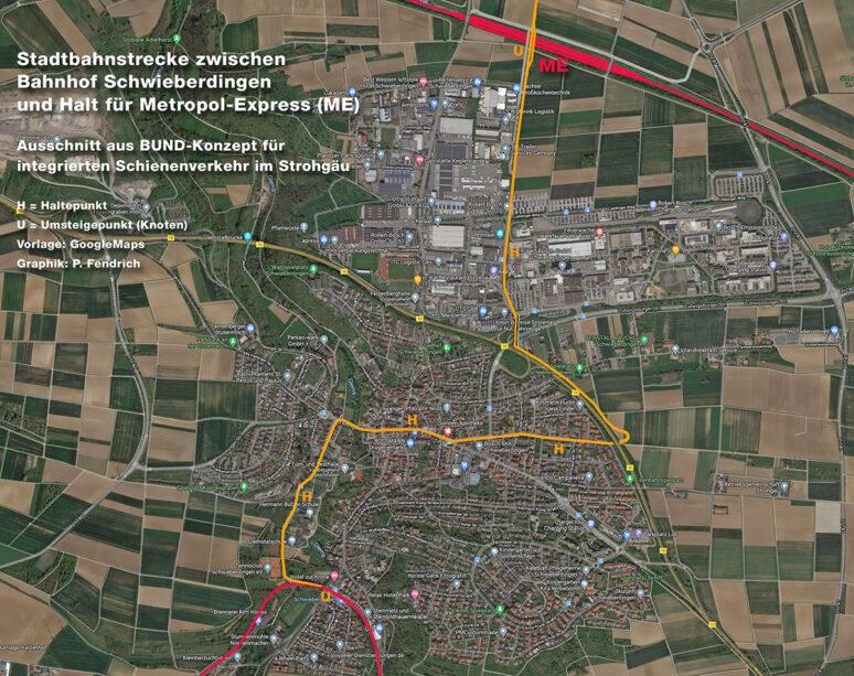 Stadtbahn Schwieberdingen